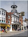 SU9949 : Guildford High Street, The Guildhall by David Dixon