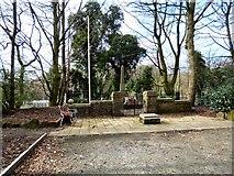 SJ9694 : Godley Hill War Memorial by Gerald England