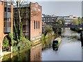 SU9949 : River Wey, Guildford by David Dixon