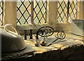 SP2429 : Branding irons, Chastleton House by Derek Harper