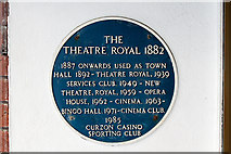 SZ0891 : Bournemouth Blue Plaques: No. 5 - Theatre Royal by Mike Searle