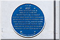 """SZ0891 : Bournemouth Blue Plaques: No. 6 - site of the iron """"Scotch"""" church by Mike Searle"""