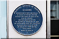 SZ0891 : Bournemouth Blue Plaques: No. 26 - site of Bournemouth's first Quaker meeting house by Mike Searle