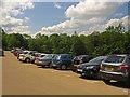 NZ1658 : Car Park, Gibside by wfmillar