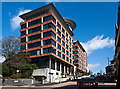 SZ0891 : Bournemouth's Nationwide building, Portman House by Mike Searle