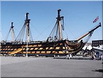 SU6200 : HMS Victory, Historic Dockyard, Portsmouth by Robin Sones