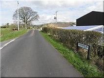 H4483 : Reaghan Road, Ballynatubbrit by Kenneth  Allen