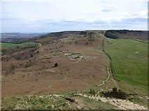NZ5812 : The Cleveland Way from Roseberry Topping by Russel Wills