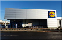 SK5907 : Lidl store on Loughborough Road by Mat Fascione