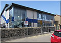 ST0693 : New building at the northern end of Trerobart Primary School, Ynysybwl by Jaggery