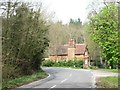 TL2702 : An estate lodge or gatehouse, Well Road, Northaw by Christine Johnstone