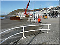 SN5881 : New bandstand and seawall under construction, The Promenade by John Baker