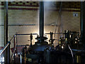 SK5806 : Beam engines at Abbey Pumping Station by Alan Murray-Rust