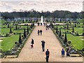 TQ1568 : Hampton Court Palace Garden by David Dixon