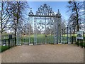 TQ1668 : Gate from Hampton Court East Front Garden into Home Park by David Dixon