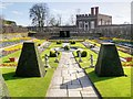 TQ1568 : Hampton Court Palace, East Pond Garden by David Dixon