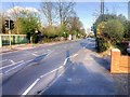 TQ0079 : Pedestrian-Controlled Traffic Lights on Langley Road by David Dixon
