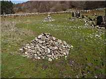 NR8935 : The Old Graveyard at Machrie by Brian Robertson