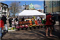 TA0928 : Fruit and Veg stall on King Edward Street, Hull by Ian S