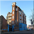 TQ3378 : Rear of the original Old Kent Road fire station by Stephen Craven
