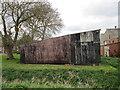TF2151 : Corrugated iron shed at Cheethams Bridge Farm by Jonathan Thacker