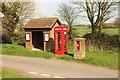 TF4765 : Bratoft village centre by Richard Croft