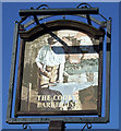 NU1705 : Sign for the Cook & Barker Inn, Newton on the Moor by JThomas