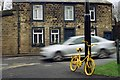 SE1945 : Yellow bike, Otley by John Winder