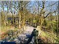SD7215 : Looking Over Turton Railway Bridge by David Dixon