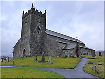 SD3598 : St Michael and All Angels, Hawkshead: churchyard (3) by Basher Eyre