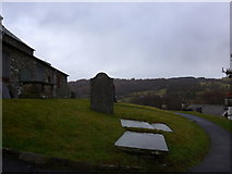 SD3598 : St Michael and All Angels, Hawkshead: churchyard (5) by Basher Eyre