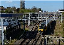 SP3378 : West Coast Main Line at Leamington Junction by Mat Fascione