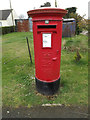 TM0160 : Harleston Green Postbox by Adrian Cable