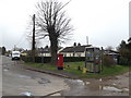 TM0160 : Haughley Green Postbox & Telephone Box by Adrian Cable