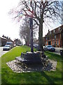 TF8115 : Castle Acre village sign - gone! by Martin Pearman