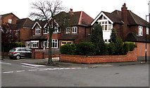 SP3265 : Corner of Russell Terrace and Farley Street, Royal Leamington Spa by Jaggery