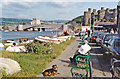 SH7877 : Conwy, 1992: the Bridges and Castle by Ben Brooksbank