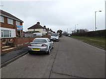 TM0659 : Devon Road, Stowupland by Adrian Cable