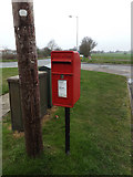 TM0659 : Broomspath Estate Postbox by Adrian Cable