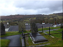 SD3598 : St Michael and All Angels, Hawkshead: churchyard (11) by Basher Eyre