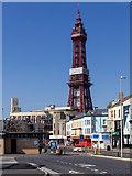 SD3035 : Central Drive, Blackpool by David P Howard