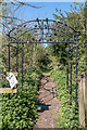 TQ3398 : Entrance to Woodland, Forty Hall Farm, Enfield by Christine Matthews