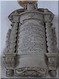 SD3598 : St Michael and All Angels, Hawkshead: memorial (i) by Basher Eyre