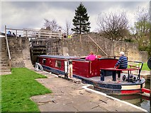SE1039 : Negotiating Bingley Five-Rise Locks by David Dixon
