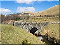 NS2790 : Bridge over Auchengaich Burn by Trevor Littlewood