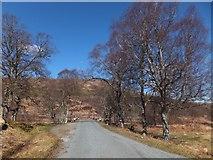 NH1101 : Crossing the Allt a' Ghobhainn by Alpin Stewart