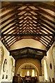 SU5132 : Ceiling in the Church by Bill Nicholls