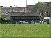 TQ1649 : Dorking football ground by Alan Hunt