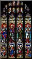 SO6943 : East window, Holy Trinity church, Bosbury by Julian P Guffogg