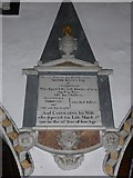 SD3598 : St Michael and All Angels, Hawkshead: memorial (viii) by Basher Eyre